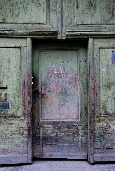 Door in Cluj (Kolosvar), Romania (2007)